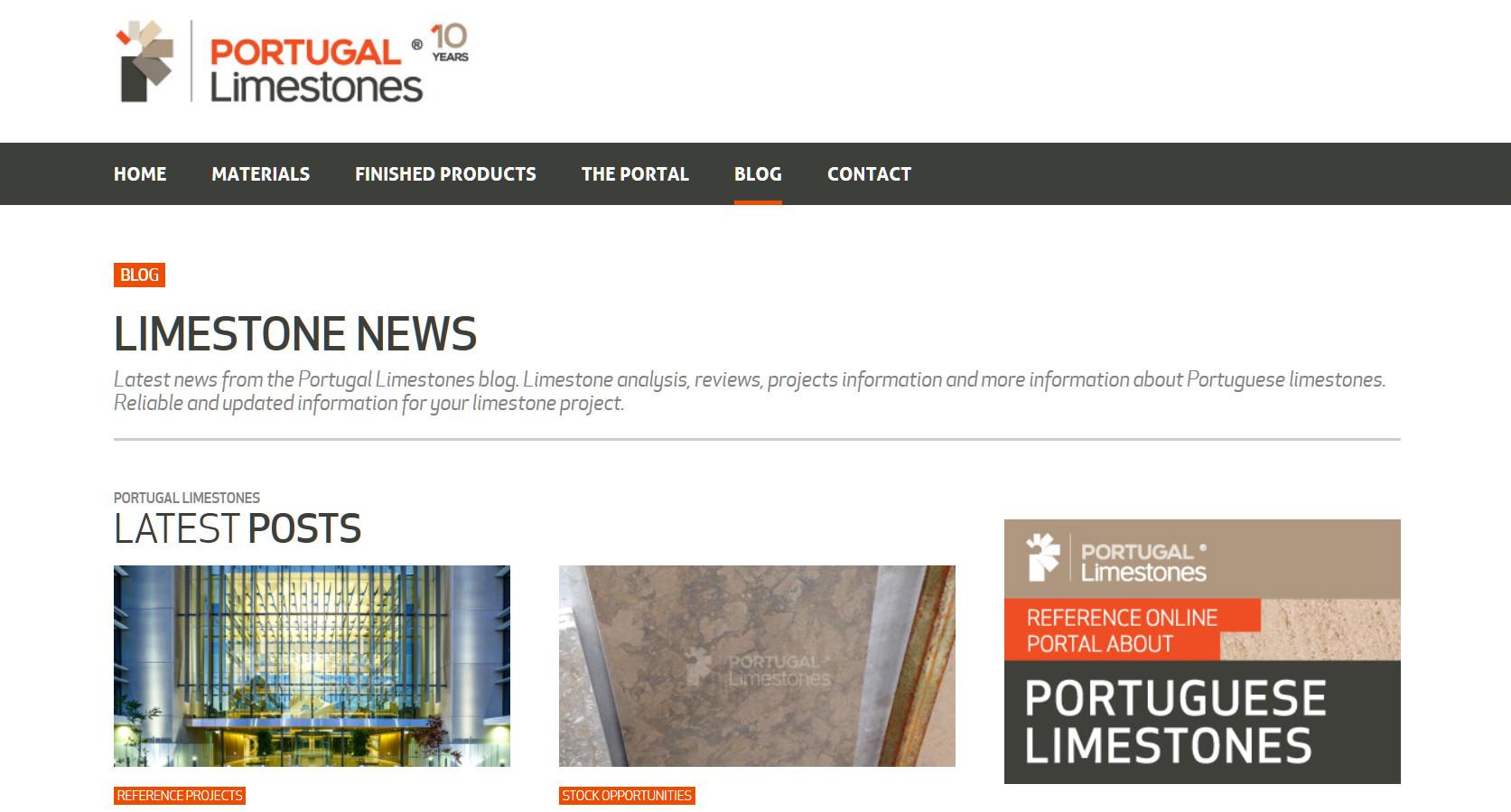 Portugalimestones.com - Blog