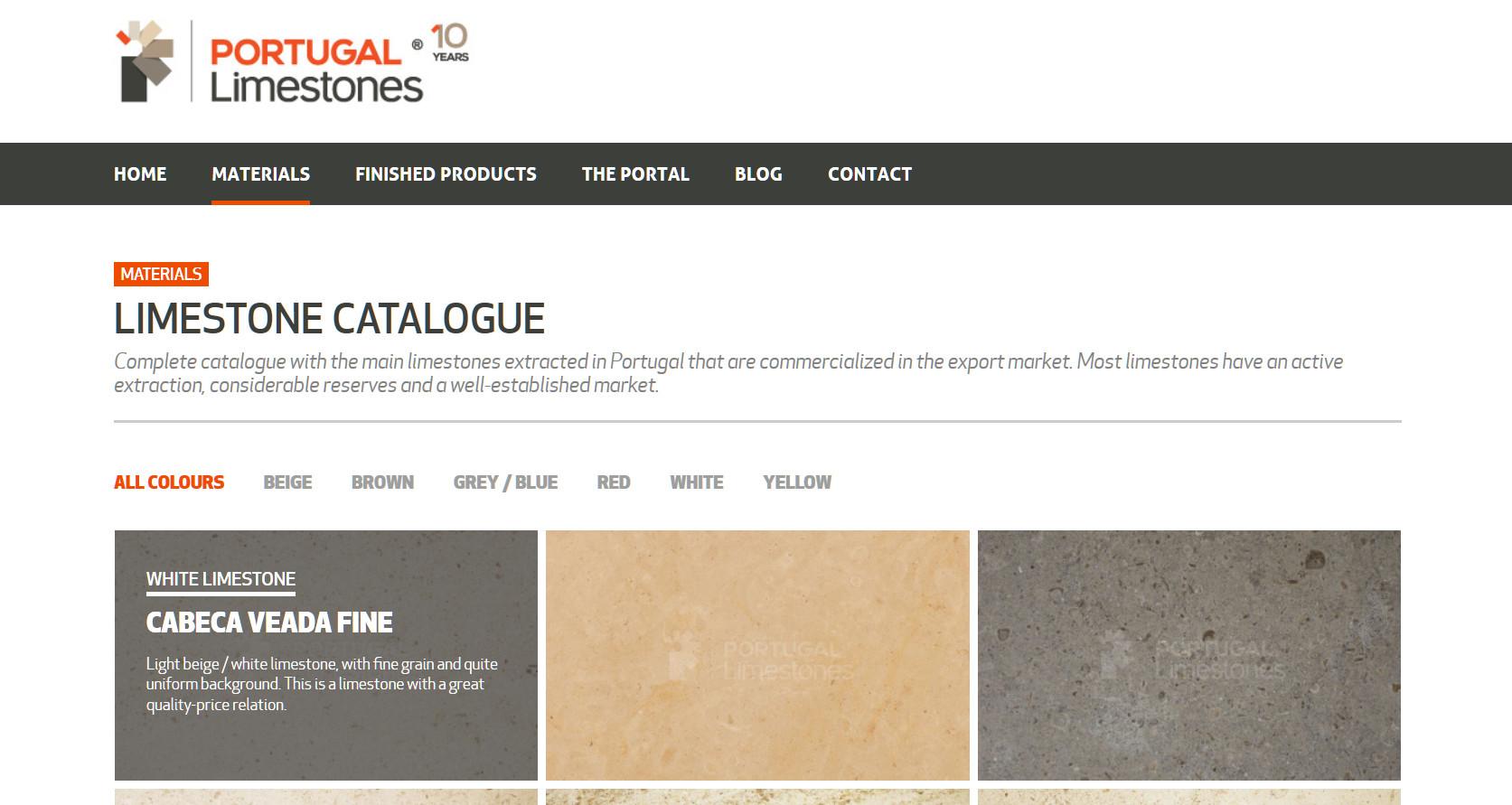 Portugalimestones.com - Materials