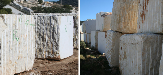 Crema Marfil Blocks