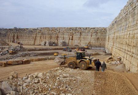 Jura Limestone Quarry