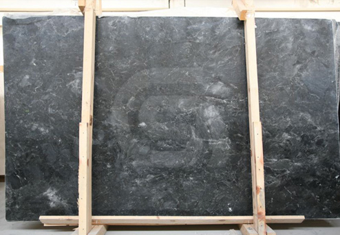 Silver Black Slabs