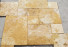 Travertine Yellow Cross-Cut French Pattern