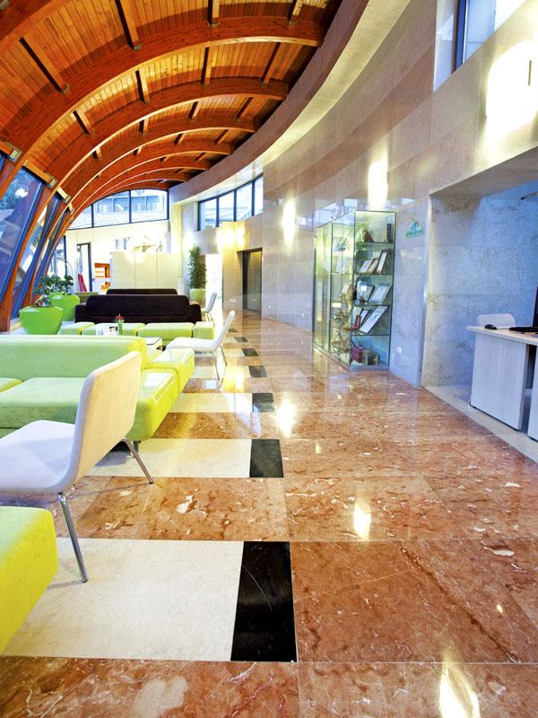 Burdur Red and Aegean Beige Flooring and Coverings