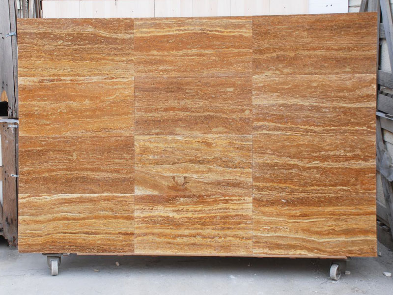 Travertine Gold mock-up