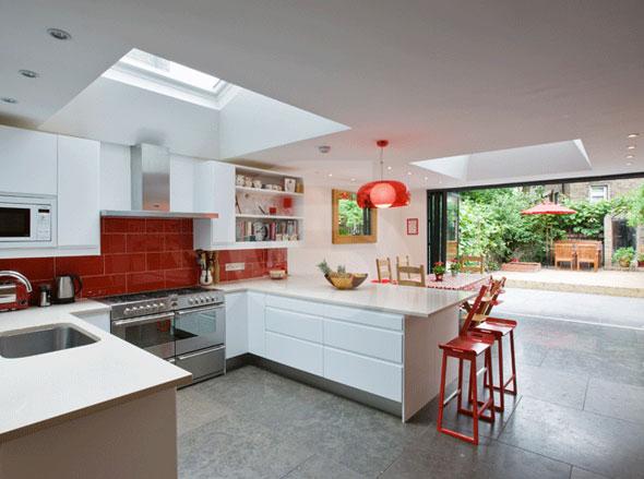 Private Villa - London UK - Gris Pardo Limestone
