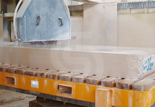 creme-mos-limestone-tiles-production