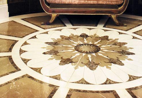 dark-emperador-marble-waterjet-flooring