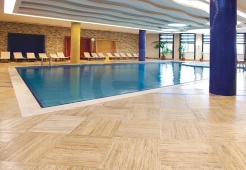 Travertine Noce Vein-Cut Flooring