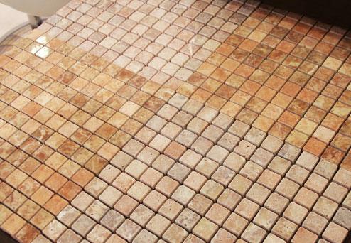Travertine Rose Mosaics