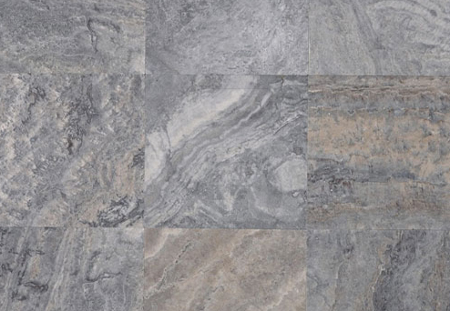Travertine Silver Mosaics
