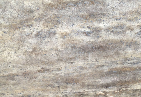 Travertine Silver - Polished
