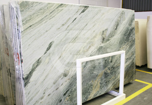 Verde Viana marble slabs