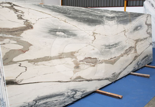 Estremoz White and Blue marble slabs