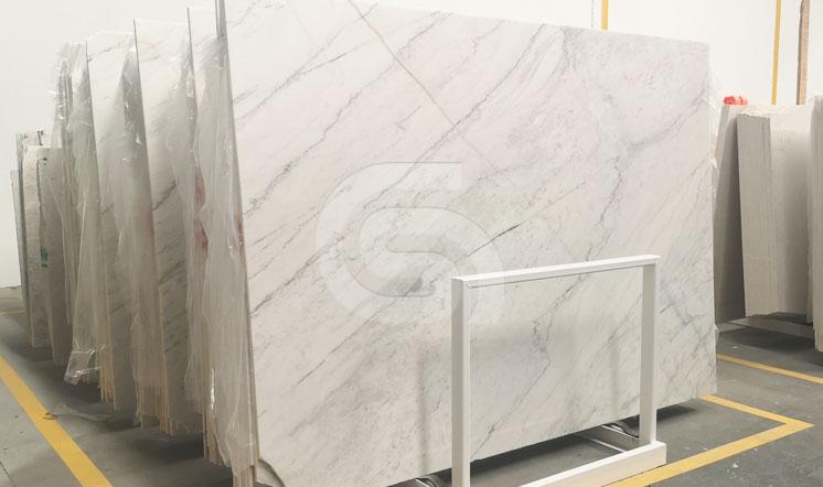 Portuguese white marble